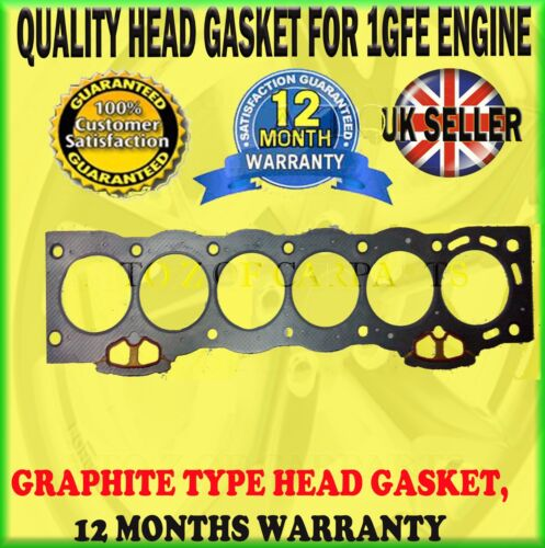 FOR LEXUS IS200 2.0 TOYOTA ALTEZZA GXE10 99-05 1GFE 24V 6 CYLINDER HEAD GASKET