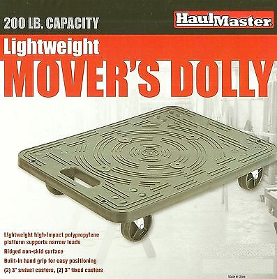 Lightweight Movers Dolly 200 Pound 19 12 X 14 38 Furniture Moving Dj Cart