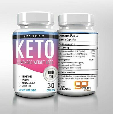 KETO PLUS DIET BURN FAT INCREASE ENERGY BHB KETONES FAST SHIPPING