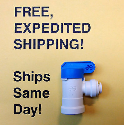 John Guest Ppsv500822w Shut Off Valve - Free Expedited Shipping