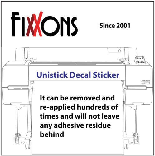 """Magnetic Sheet - Unistick FX100 Block Out - Eco-solvent 24"""" x 50"""