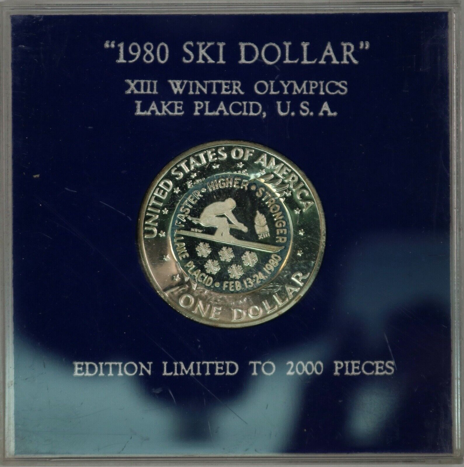 1980 Ski Dollar. Counterstrike By Mel Wacks. RAW558/SH - $59.99