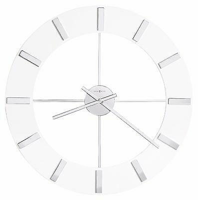 """HOWARD MILLER 625596 - NEW GALLERY  CONTEMPORARY 30"""" WALL CLOCK """"PEARL""""625-596"""
