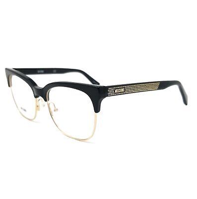 Moschino Eyeglasses MOS519 807 Black Women 51x17x140