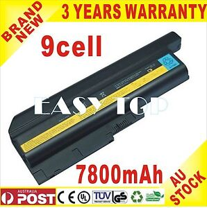 9Cell Battery for Lenovo IBM Thinkpad T60 T61 R60 40Y6797 R60e T60p T61 T61p