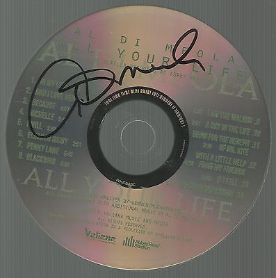 All Your Life: Tribute to the Beatles * by Al Di Meola (CD,2013) Original