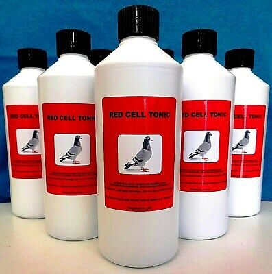 RED CELL TONIC Racing Pigeons Poultry Birds Multi Vitamins Minerals Echinacea.