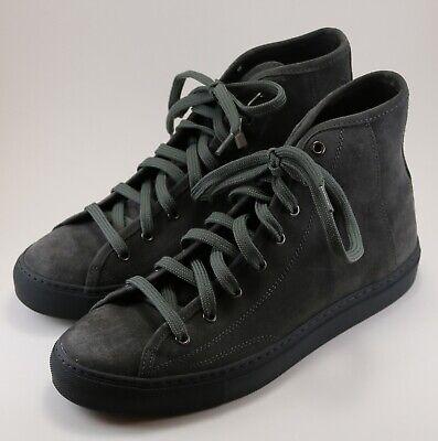 Diemme Veneta Alto High Top Suede Sneakers Size 43 / 10 Brand New Gray