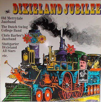 2 LP`s  Dixieland Jubilee NEAR MINT Top,cleaned Intercord 155.002 - 1974 Germany