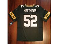 Matthews Green-jersey,Brand new with tags-On field-size-44-Large