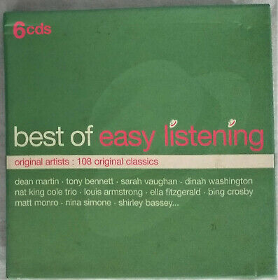 Various Artists - The Best of Easy Listening (6CD Box - 2001) 108 Classics - (Best Easy Listening Artists)