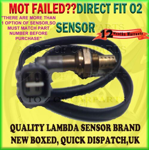FOR LEXUS IS200 2.0 IGFE/GXE10 99-05 POST CAT LAMBDA OXYGEN SENSOR 89465-33120