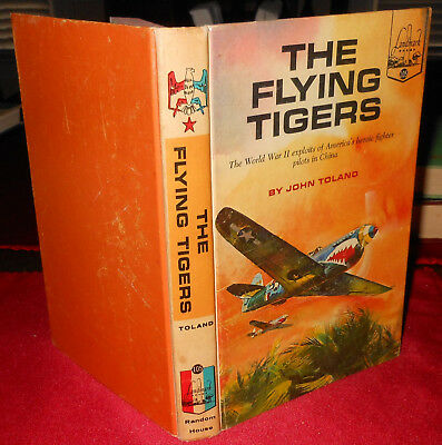 1963 Landmark Book The Flying Tigers Hb John Toland Illustrated