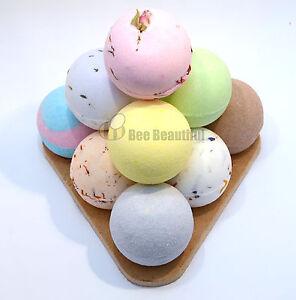 Bee-Beautiful-Bath-Bomb-Pyramid-10-x-65g-bath-bombs-Gift-present-fizzers