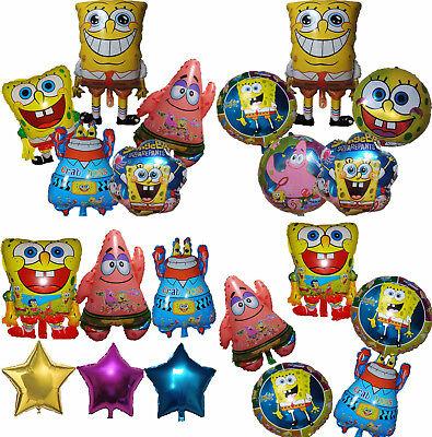 Spongebob Centerpieces (SPONGEBOB SQUAREPANTS BALLOON BIRTHDAY PARTY BAG GIFT CENTERPIECE DECOR)