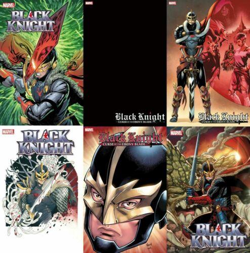 (2021) BLACK KNIGHT CURSE EBONY BLADE #1 6 VARIANT COVER SET! MOMOKO! BLANK! LIM