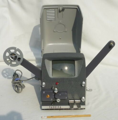 Vintage Yashica Editor Film Editing Machine/Viewer w/Splicer Excellent Condition