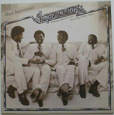 THE IMPRESSIONS     FIRST IMPRESSIONS      1975   UK CURTOM LP