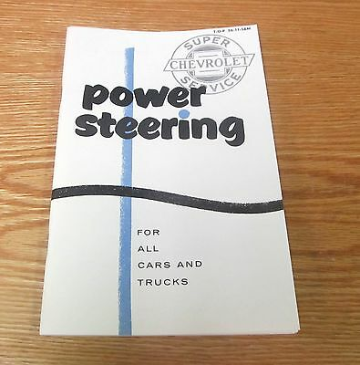 1955 1956 1957 Chevy Power Steering Manual Car   Truck    Usa Made