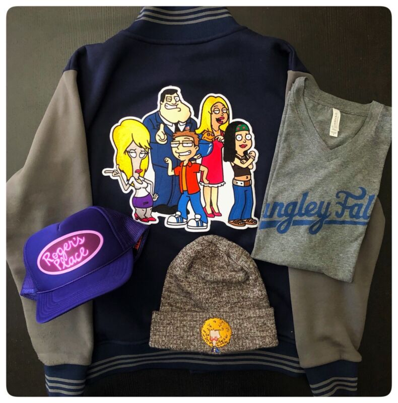 AMERICAN DAD! Animation Crew EXCLUSIVES - Jacket, Cap, Beanie & T-Shirt!!!
