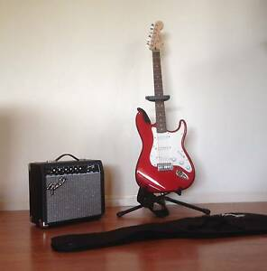 Electric Guitar Stratocaster Squire Affinity Series by Fender Buderim Maroochydore Area Preview