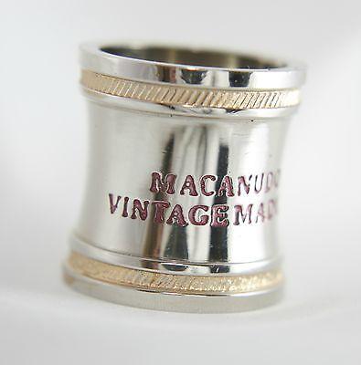 Macanudo Maduro Vintage Cabinet Selection 1997 Metal Cigar Band Ring