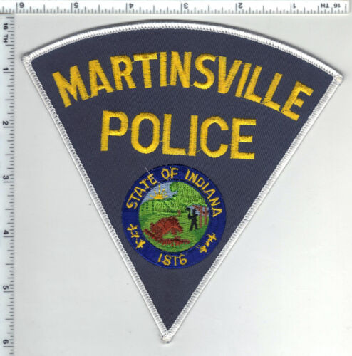 Martinsville Police (Indiana)  Shoulder Patch - new from the 1980s