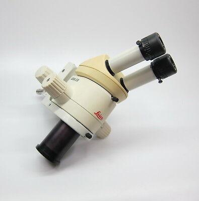 Leica Mz6 Microscope With Leica 10x Eyepiece 0.63x Bottom Lens 10447254