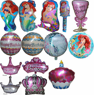 Little Mermaid Party Decor (PRINCESS ARIEL MY LITTLE MERMAID BALLOON GIRL BIRTHDAY PARTY SUPPLIES DECOR)