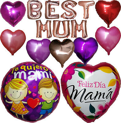 MOTHER'S DAY BALLOON DIA DE LAS MADRES GLOBO PARTY SUPPLIES DECORATION GIFT
