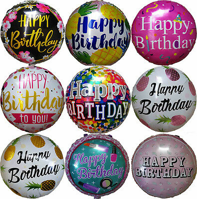 Happy Birthday Balloon 1st 5th 10th 16th 18th 21st 30th 40th 50th Birthday - Happy 16th Birthday Balloons