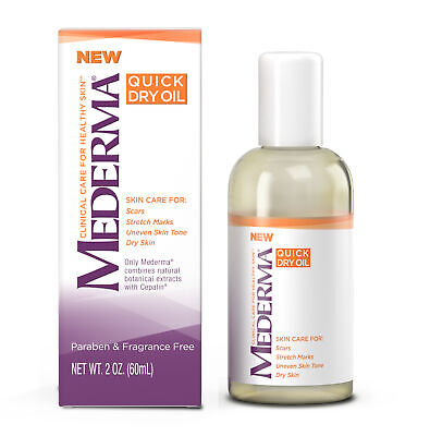 Mederma Clinical Care Quick Dry Oil Combined With Cepalin, 2 Ounces Each