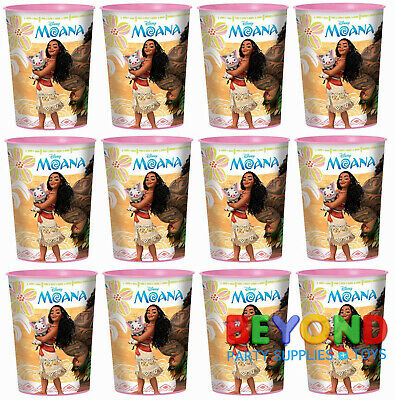 Disney Moana High Quality Reusable Birthday Party Plastic Cups](Plastic Reusable Cups)