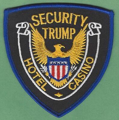 Trump Hotel   Casino Atlantic City New Jersey Security Police Patch