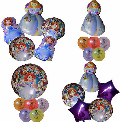 PRINCESS SOFIA THE FIRST BALLOON BIRTHDAY PARTY BAG GIFT CENTERPIECE DECORATION