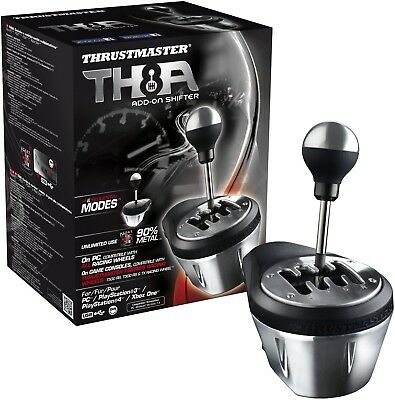 Thrustmaster Th8a Add On Gearbox Shifter For Pc  Ps3  Ps4 And Xbox One Gear Box