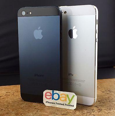 Apple iPhone 5 - 16GB 32GB 64GB (Black / White) Unlocked AT&T T-Mobile Sprint