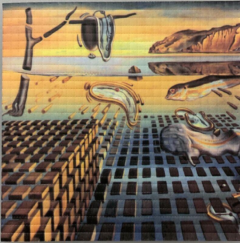 BLOTTER ART - Salvia Dali - The Illusion Of Time - 900 Squares