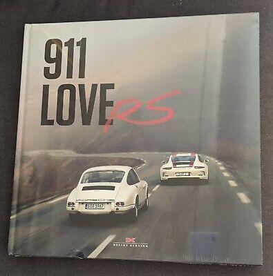 911 LoveRS Hardcover Book by Jurgen Lewandowski *Brand New Factory Sealed*