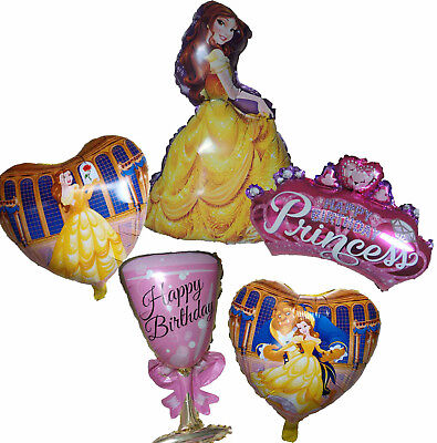 PRINCESS BELLE BALLOON BEAUTY AND THE BEAST BIRTHDAY PARTY SUPPLIES DECOR GIFT ()
