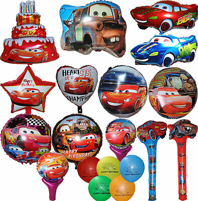 CARS LIGHTNING MCQUEEN TOW MATER BALLOON BIRTHDAY PARTY SUPPLIES DECOR GIFT - Lightning Mcqueen Party