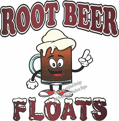 Root Beer Floats Decal 24 Ice Cream Concession Restaurant Catering Food Truck