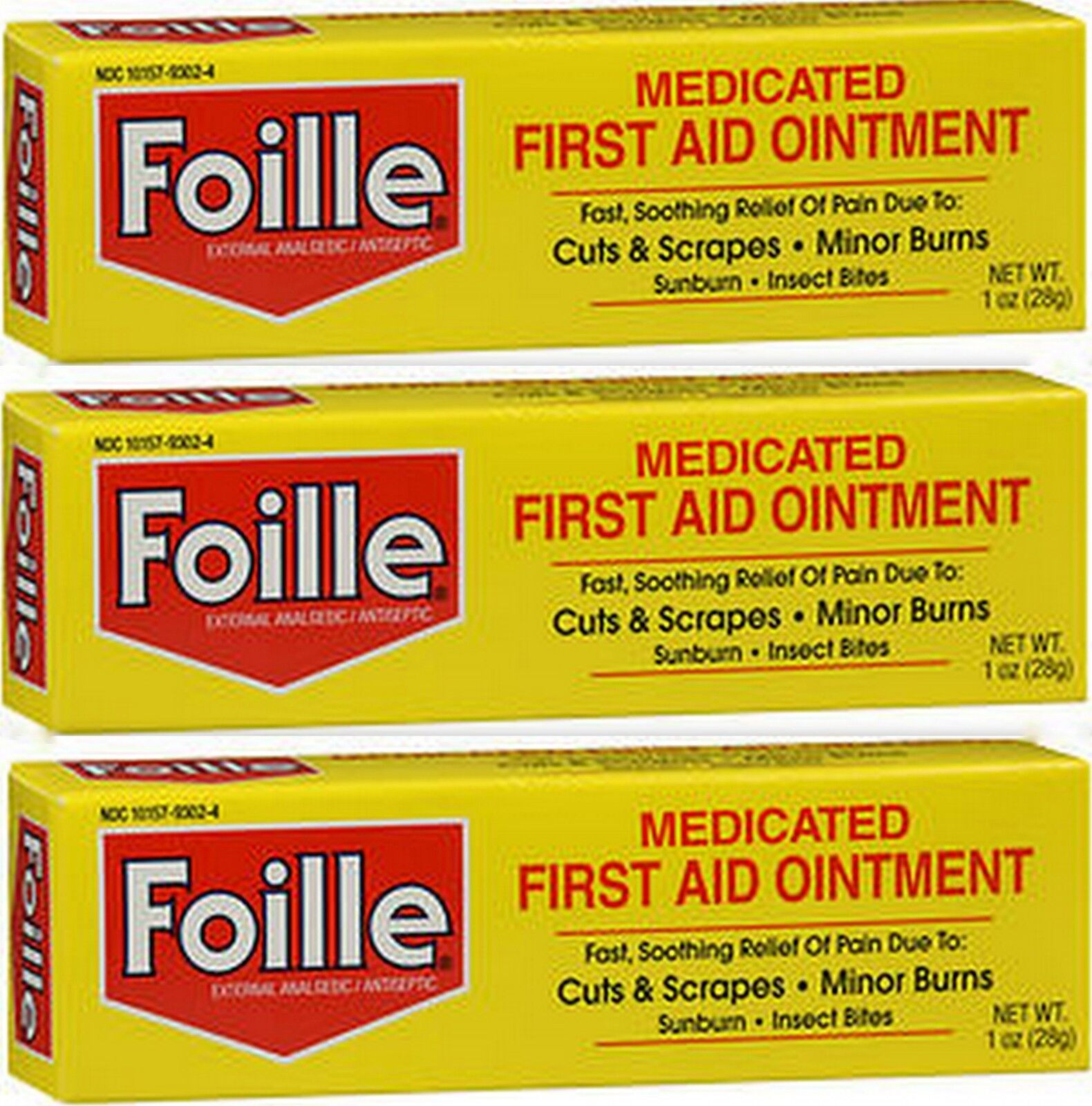 Foille First-Aid Ointment Tube 1 oz ( 3 Pack ) *** | Wundr-Shop