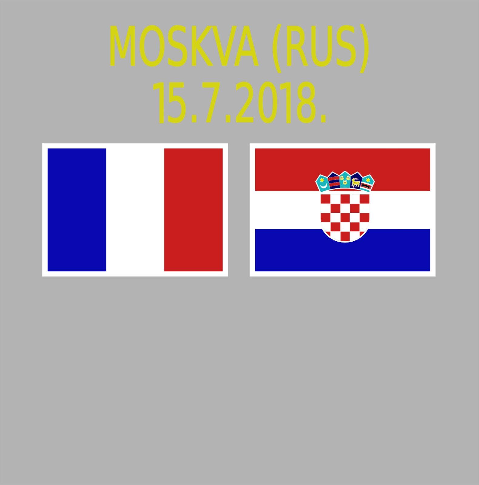 MATCHDETAILS KROATIEN / HRVATSKA WM 2018 RUSSLAND TRIKOT KROATIEN CROATIA