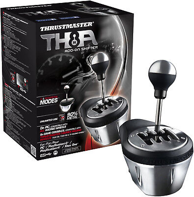Thrustmaster Th8a Add On Gearbox Shifter For Pc  Ps3  Ps4 And Xbox One  Bra  New