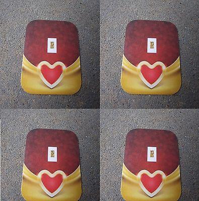 4 LOVE VALENTINE1/15th Gr PURE 999  GOLD BULLION MINTED BARS»(¯`v´¯)»
