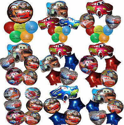 Lightning Mcqueen Birthday Party Decorations (CARS LIGHTNING MCQUEEN TOW MATER BALLOON PACK BIRTHDAY PARTY DECOR)