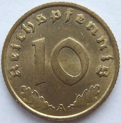 TOP! 10 Pf 1936 A in VORZÜGLICH+++ SELTEN !!!