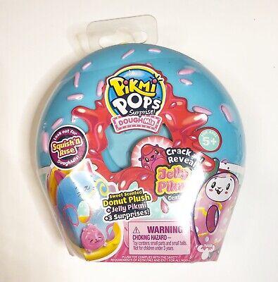 Pikmi Pops Surprise Doughmis Medium PINK Scented Doughnut Plush Jelly~NEW Medium Pink Jelly