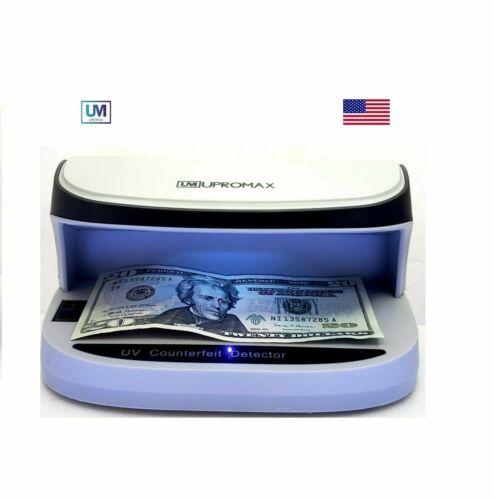 UPROMAX Portable LED UV Counterfeit Fake Bill Cash Check Money Card Detector USB